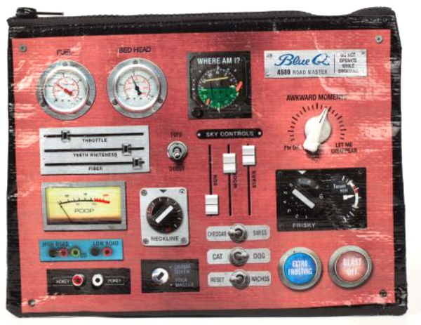 Blue Q - Control Panel Large Supply Pouch