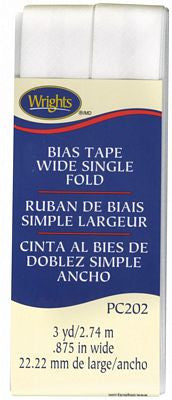 Bias Tape Wide Single Fold