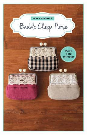 Bauble Clasp Purse Kit