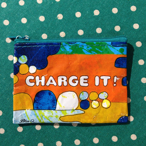 Blue Q - Charge It! Coin Purse