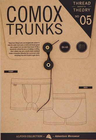 Thread Theory Comox Trunks - Paper Pattern