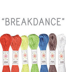 Sublime Stitching Embroidery Floss - Breakdance