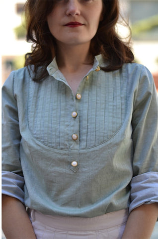 Carme Blouse by Pauline Alice