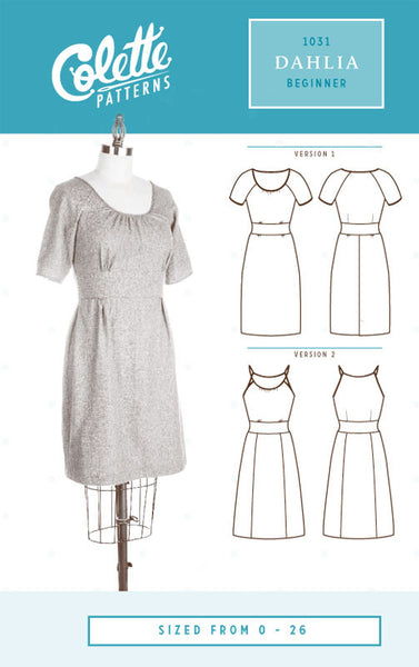 Colette Patterns Dahlia Dress