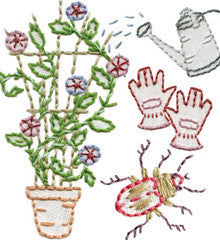 Sublime Stitching Embroidery Patterns - Garden Variety