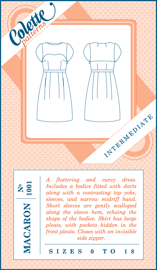 Colette Patterns Macaron Dress