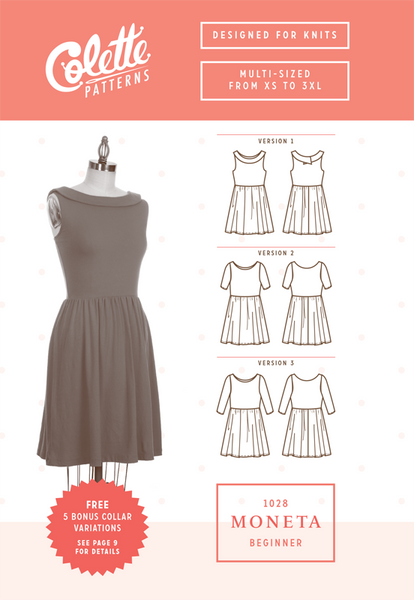 Colette Patterns Moneta Dress
