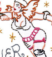 Sublime Stitching Embroidery Patterns - Roller Derby