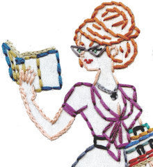 Sublime Stitching Embroidery Patterns - Sexy Librarians & Secretaries