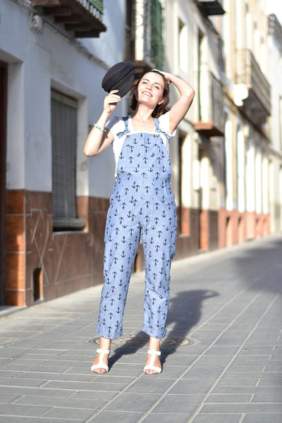 Turia Dungarees by Pauline Alice