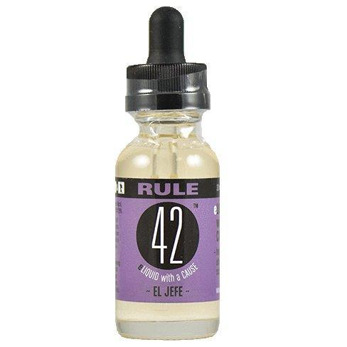 Rule 42 Eliquid - El Jefe