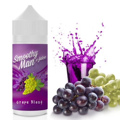 Smoothy Man E-Juice - Grape Blast