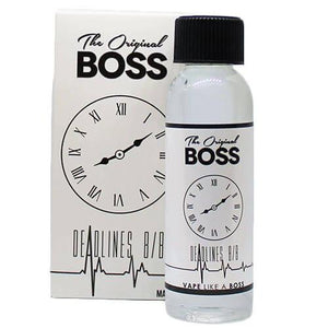 The Original Boss eJuice - Deadlines 8/8