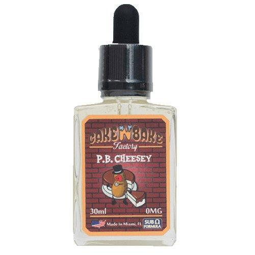 Cake N Bake Factory eJuice - P. B. Cheesey