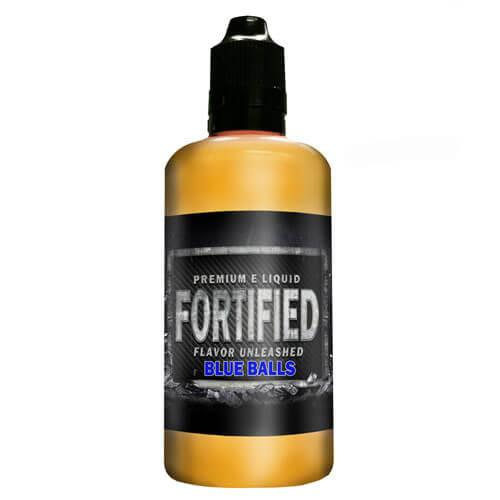 Fortified Premium E-Liquid - Blue Balls