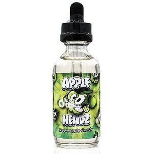 Apple Headz Candy eJuice - Green Apple Candy