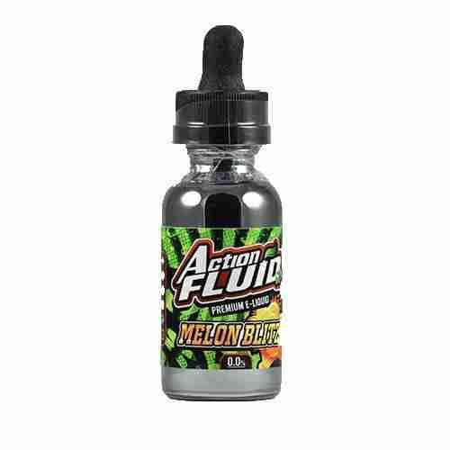 Action Fluid Premium E-Liquid - Melon Blitz