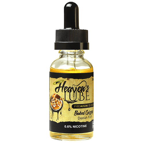 Heaven's Lube Premium E-Liquid - Baked Grizzly