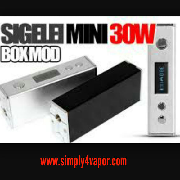 Sigelei Mini 30W Authentic - SIMPLY 4 VAPOR