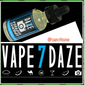 SELFIE SUNDAY 7 DAZE BY TBT ELIQUID - SIMPLY 4 VAPOR