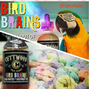 BIRD BRAINS BY CUTTWOOD ELIQUID - SIMPLY 4 VAPOR