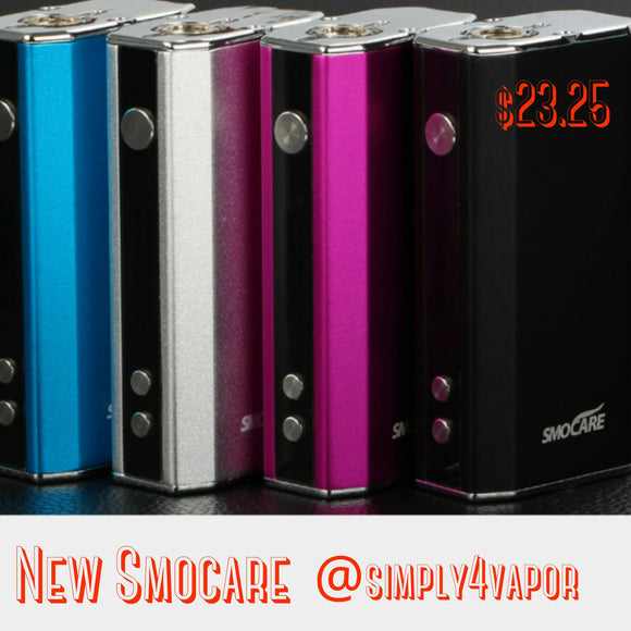 Smocare Perfect 30watt Box Mod - SIMPLY 4 VAPOR