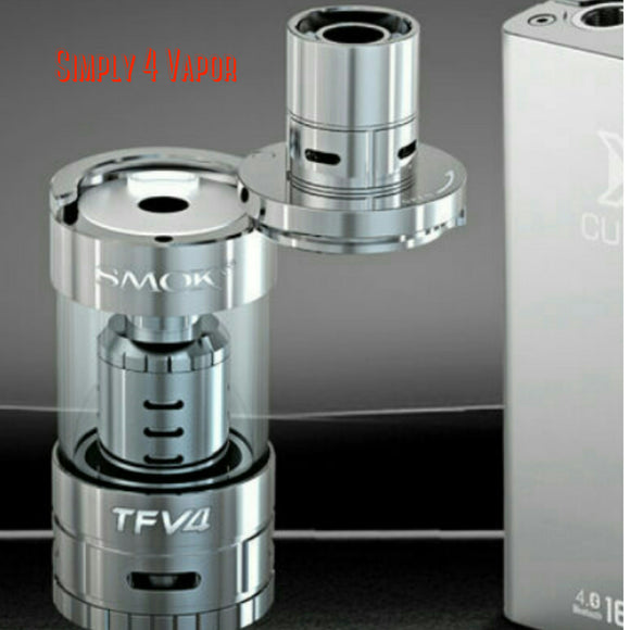SMOK TFV4 TANK FULL KIT AUTHENTIC BY SMOKTECH - SIMPLY 4 VAPOR