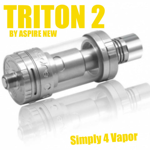 TRITON 2 V2 by ASPIRE TANK NEW AUTHENTIC - SIMPLY 4 VAPOR