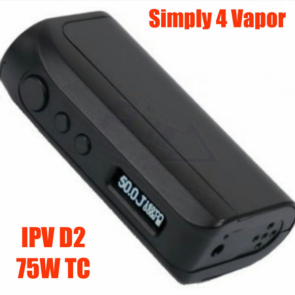 iPV D2 75W Temperature Control Mod by Pioneer4you - SIMPLY 4 VAPOR