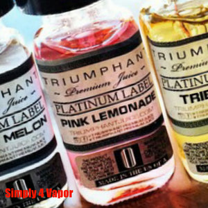 PINK LEMONADE - TRIUMPHANT PREMIUM JUICE ELIQUID EJUICE - SIMPLY 4 VAPOR - 1