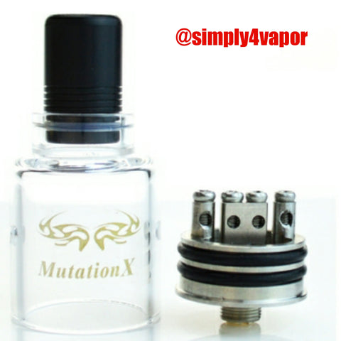 Glass Mutation xv3 by indulgence - Authentic  $9.99 - SIMPLY 4 VAPOR