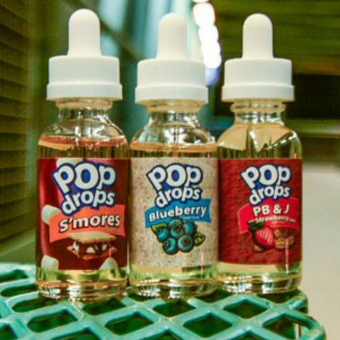 Pop drops e liquid - 30ml - e juice - SIMPLY 4 VAPOR