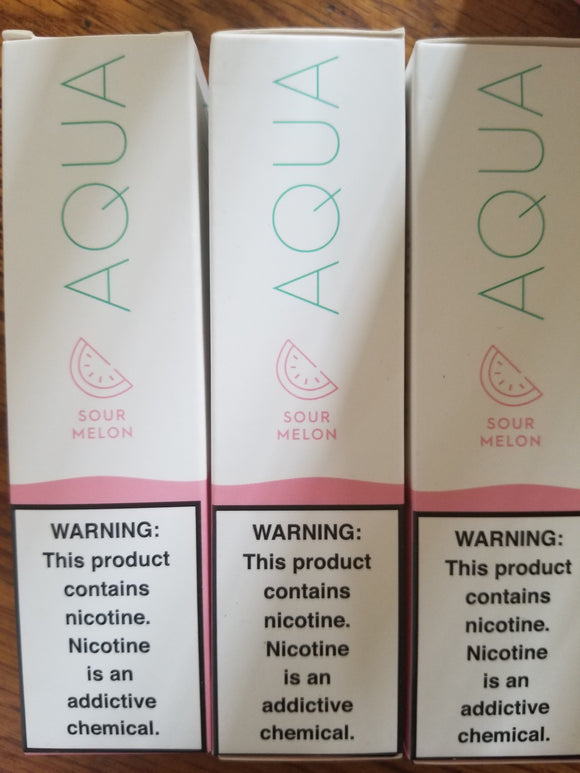 MARINA VAPE | AQUA | SOUR MELON | 60ML