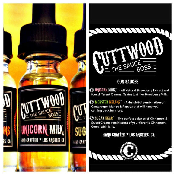 Cuttwood - Unicorn Milk -15ML - Eliquid - SIMPLY 4 VAPOR