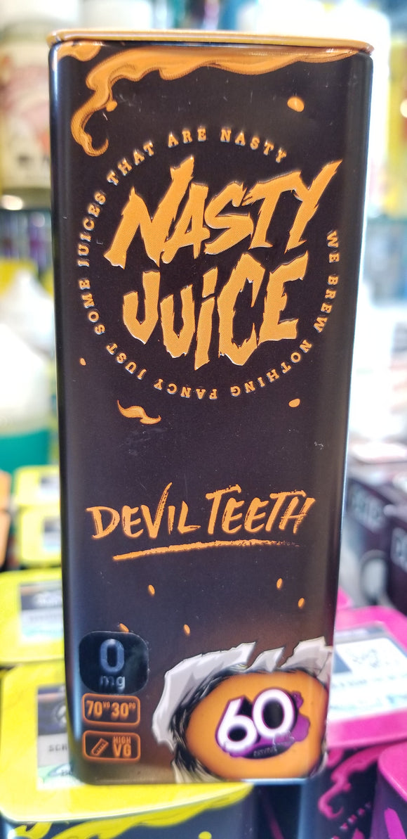 NASTY JUICE | DEVIL TEETH | LOW MINT | 60ML |