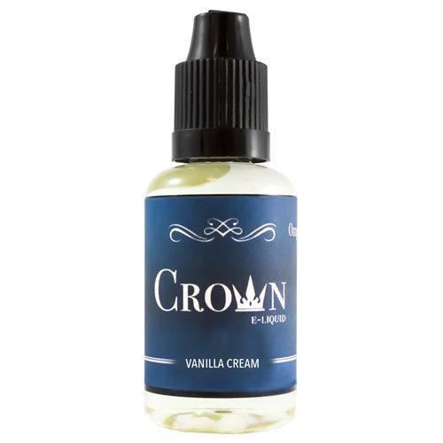 Crown E-Liquid - Vanilla Cream