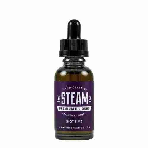 The Steam Co Premium E-Liquid - Riot Time