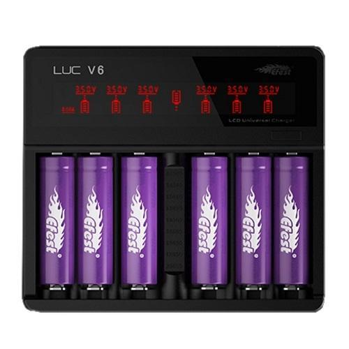 Efest Luc V6 w Car Charger