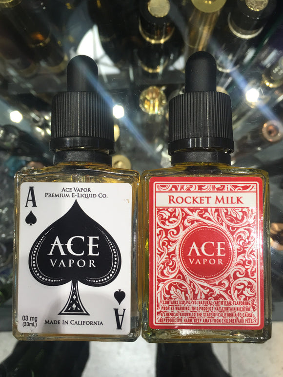 ACE VAPOR 30ml eliquid - SIMPLY 4 VAPOR