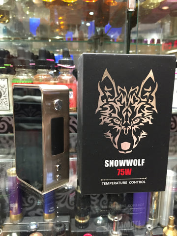 SNOWWOLF 75W - SIMPLY 4 VAPOR
