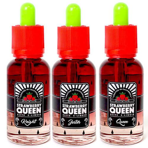 Strawberry Queen Premium E-Juice - E-Liquid Collection - 90ml