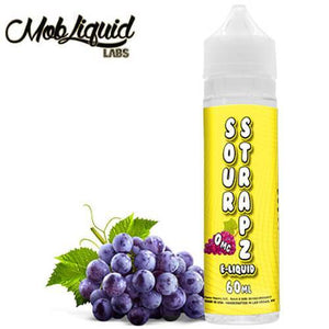 Sour Strapz eLiquid - Grape