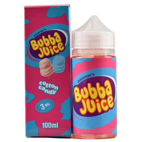Juice Man USA E-Juice - Bubba Juice Cotton Candy