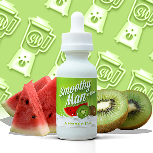 Smoothy Man E-Juice - Watermelon Kiwi