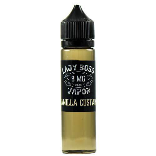 Lady Boss Vapor - Vanilla Custard