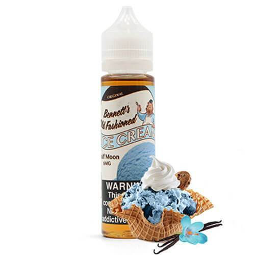 Bennett's Old Fashioned Ice Cream eJuice - Half Moon
