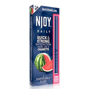 Njoy Daily eCig - Watermelon (1 Pack)