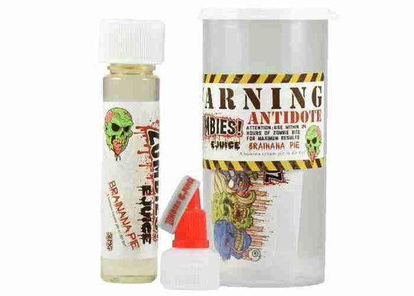 Zombies eJuice - BRAINANA PIE