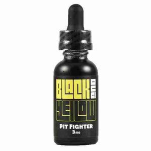 Black and Yellow eLiquid - Pit Fighter