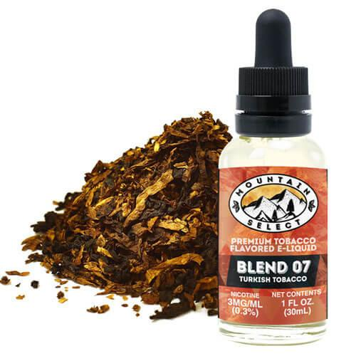 Moon Mountain Select eJuice - Blend 07